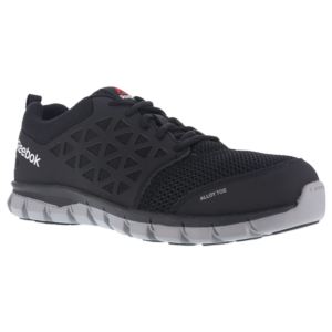 RB4041(Men)/RB041(Women) - Reebok Sublite Black | JTC Services Construction Safety Guam