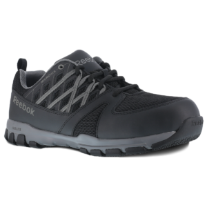 RB016 Reebok Sublite Work (Black) | JTC Services Construction Safety Guam